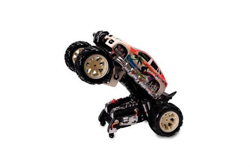 اسباب-بازی-ماشین دیوانه آب پاش کنترلی شارژی
