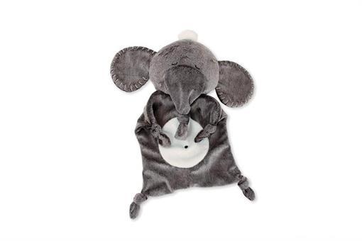 اسباب-بازی-آویز فیل تک رنگ آینه دار پولیشی مارک MANHATTAN