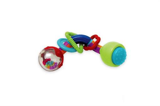اسباب-بازی-جغجغه دندونی دوسر دار مارک MANHATTAN