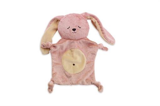 اسباب-بازی-آویز خرگوش صورتی پولیشی مارک MANHATTAN
