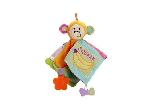 اسباب-بازی-حوله آویز طرح میمون مارک MANHATTAN
