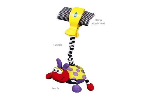 اسباب-بازی-عروسک کفشدوزک ویبره دار playgro