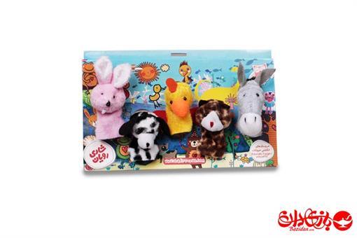 اسباب-بازی-عروسک انگشتی حیوانات مزرعه