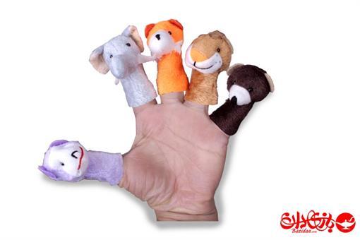 اسباب-بازی-عروسک انگشتی حیوانات جنگل