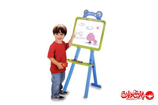 اسباب-بازی-تابلوی پایه دار نقاشی و آموزش حروف
