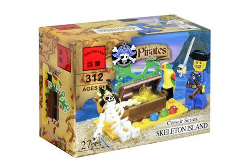 اسباب-بازی-لگو دزدان دریایی 27 تکه
