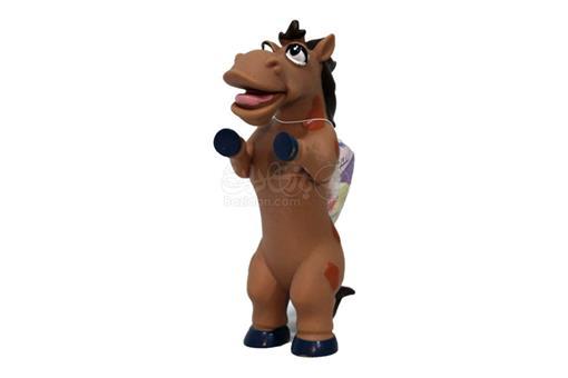 اسباب-بازی-اسب قهوه ای نرم سوتکی