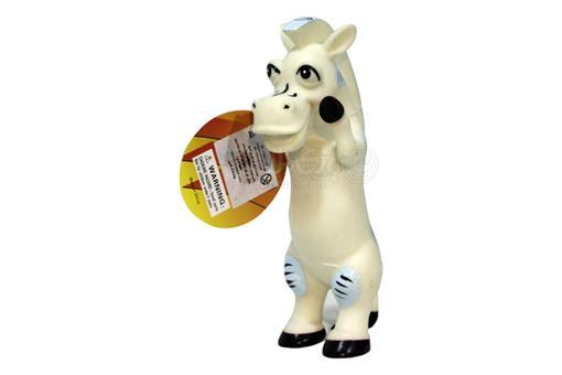 اسباب-بازی-اسب سفید نرم سوتکی