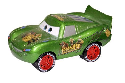 اسباب-بازی-ماشین عقب کش فلزی مک کوئین صدادار