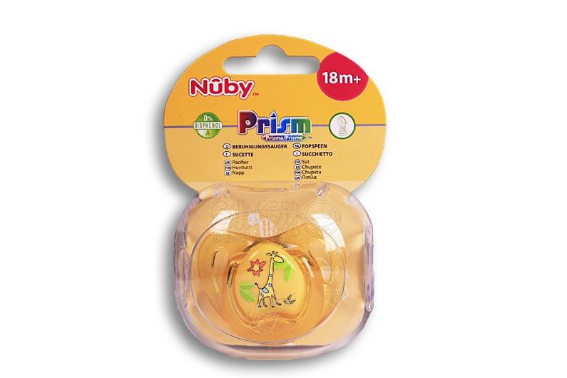 تصویر شماره 3  پستانک 1 عددی طرح رنگی مارک NUBY