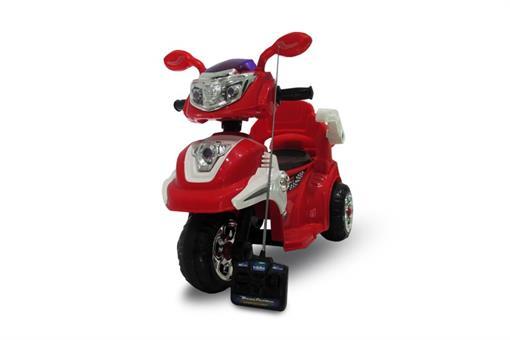 اسباب-بازی-موتور شارژی سه چرخ طرح وسپا کنترلی و موزیکال