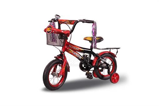 اسباب-بازی-دوچرخه سایز 12 با سبد و ترک بند مارک ونوس