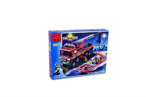 اسباب-بازی-لگو 420 تکه امداد آتش نشانی دریایی مارک انلایتن
