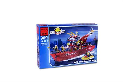 اسباب-بازی-لگو کشتی امداد آتش نشان 361 تکه