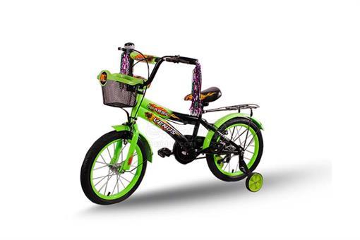 اسباب-بازی-دوچرخه کلاسیک سایز 16 با کمکی و ترک بند مارک ونوس