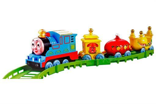 اسباب-بازی-قطار ١٦ تکه چراغ دار موزیکال طرح دلیگیت