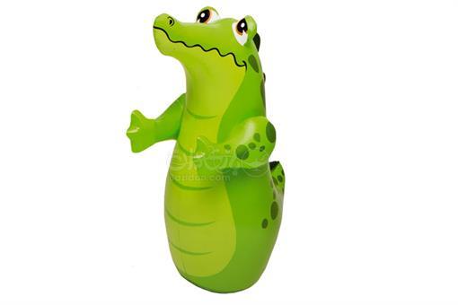 اسباب-بازی-کیسه بوکس بادی کف آب طرح تمساح اینتکس