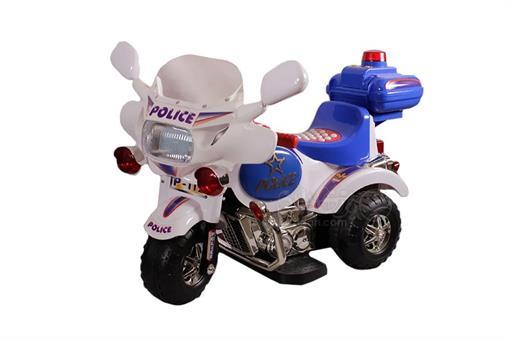 اسباب-بازی- موتور شارژی پلیس فدرال تک موتوره موزیکال صندوق دار