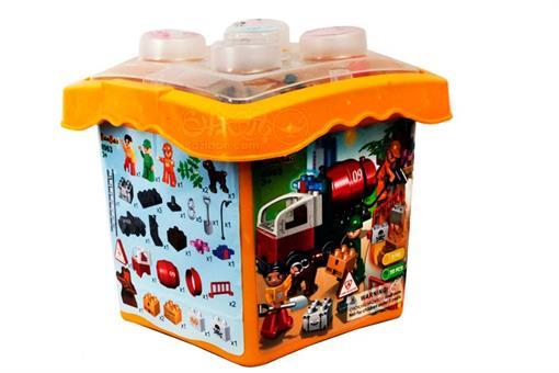 اسباب-بازی-لگو مهندسی آتش نشانی مارک BanBao