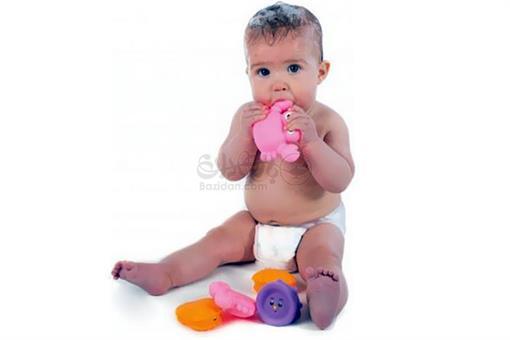 اسباب-بازی-پوپت پلاستیکی حیوانات صورتی playgro