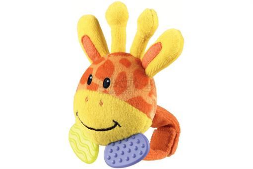 اسباب-بازی-عروسک مچ بند لثه گیر زرافه Playgro