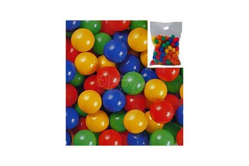 اسباب-بازی-توپ رنگی ١٠٠ عددی ٥٥ میلیمتری  EDU-PLAY