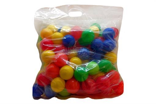 اسباب-بازی-توپ رنگی 100 عددی 75 میلیمتری  EDU-PLAY