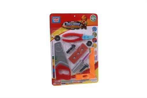 اسباب-بازی-ابزار نجاری 10 قطعه 3مدل