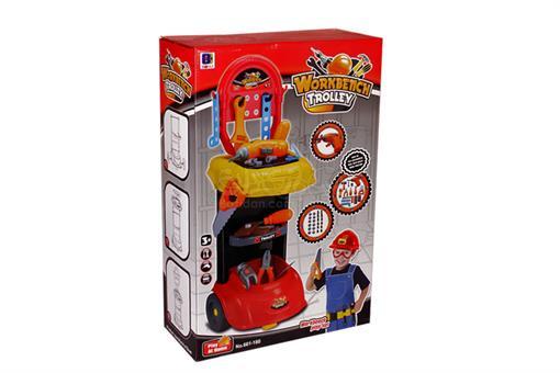 اسباب-بازی-ست میز ابزار با وسایل