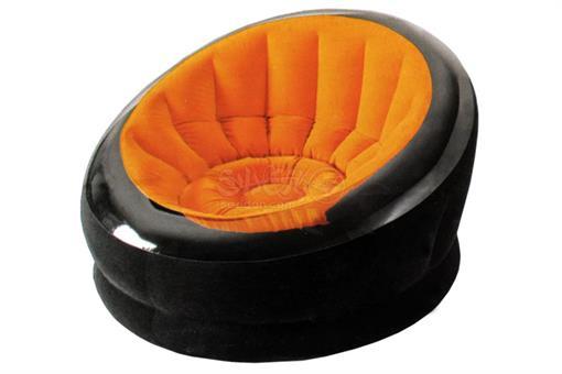 اسباب-بازی-صندلی بادی مبلی با روکش جیر بزرگسال اینتکس طرح صدفی
