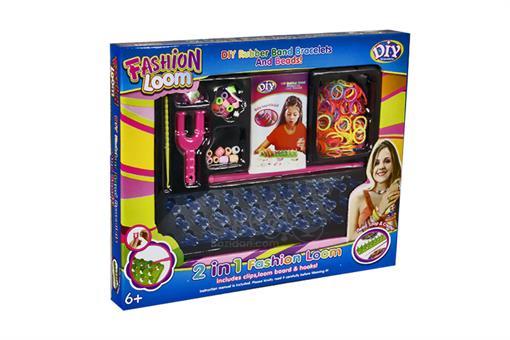 اسباب-بازی-فانی بافت ست دستبند رنگین کمان دایره