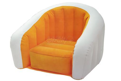 اسباب-بازی-صندلی بادی نارنجی کودک اینتکس