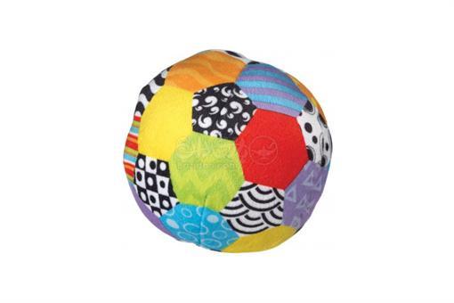 اسباب-بازی-توپ پارچه ای رنگی playgro