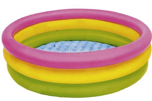 اسباب-بازی-استخر رنگین کمان تک نفره کودک اینتکس