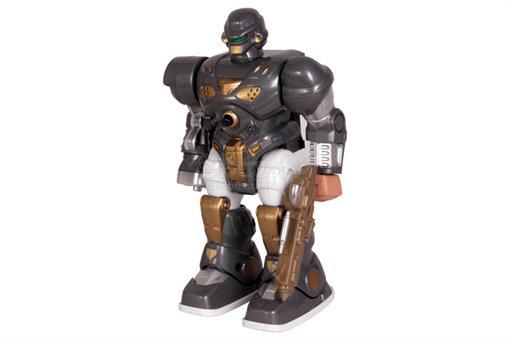 اسباب-بازی-آدم آهنی باتری خور چراغ دار