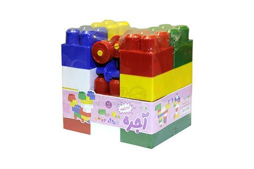 اسباب-بازی-آجره بلوکی ساخت و ساز 22 قطعه