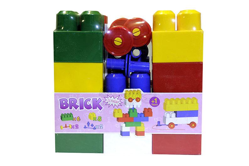 تصویر شماره 2  آجره بلوکی ساخت و ساز 22 قطعه