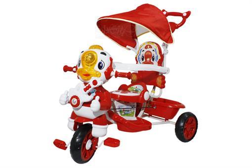 اسباب-بازی-سه چرخه کودک سایبان دار طرح اردک