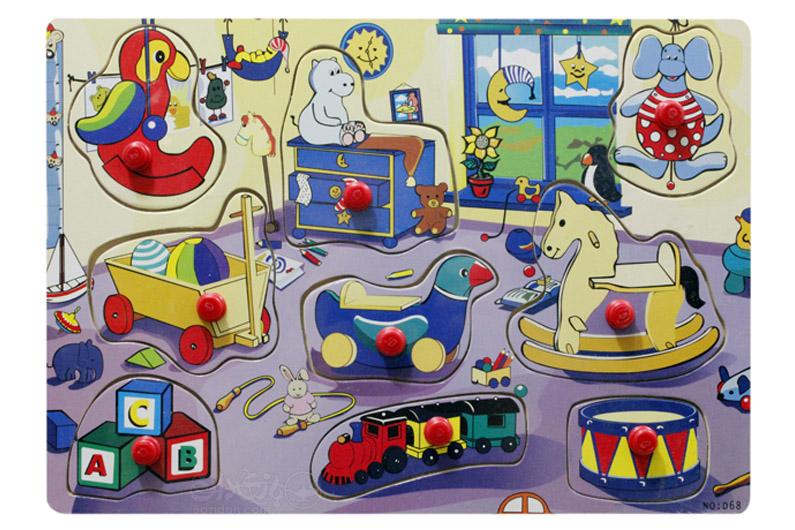 تصویر-شماره-1-پازل-جاگذاری-دکمه-دار-وسایل-اتاق-کودک