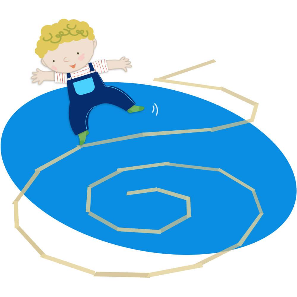 بند بازی روی زمین