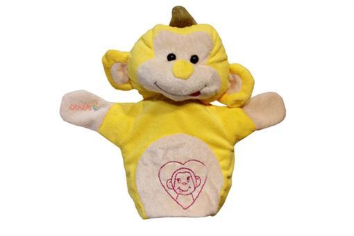 اسباب-بازی-عروسک نمایشی میمون زرد