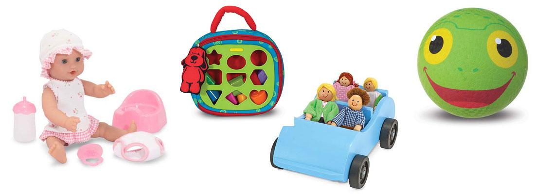 اسباب بازی های نوزاد