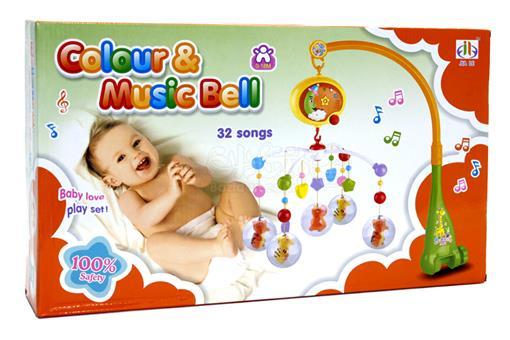 اسباب-بازی-آویز تخت موزیکال با 32 موزیک