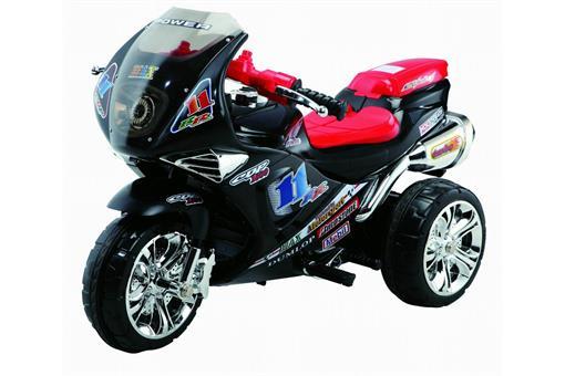 اسباب-بازی-موتور شارژی سه چرخ کراس صندوقدار و موزیکال