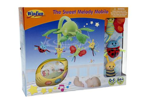 اسباب-بازی-آویز تخت موزیکال چراغدار زمان دار