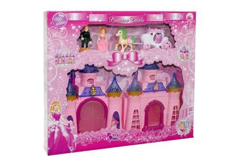 اسباب-بازی-خانه پرنسس با کالسکه