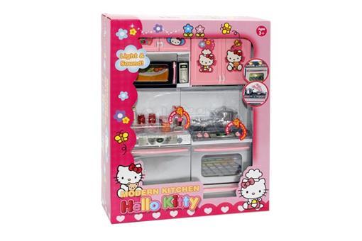 اسباب-بازی-ست آشپزخانه گاز - ماشین ظرفشوئی - ماکروفر طرح کیتی