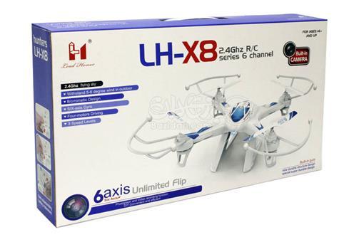 اسباب-بازی-کواد کوپتر پروازی 6 کانال دوربین دار