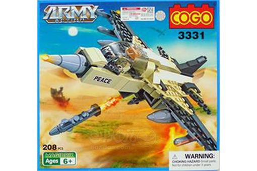 اسباب-بازی-لگو هواپیمای جنگی 208 تکه