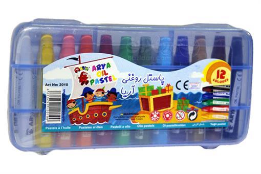 اسباب-بازی-پاستل 12 رنگ کیفی